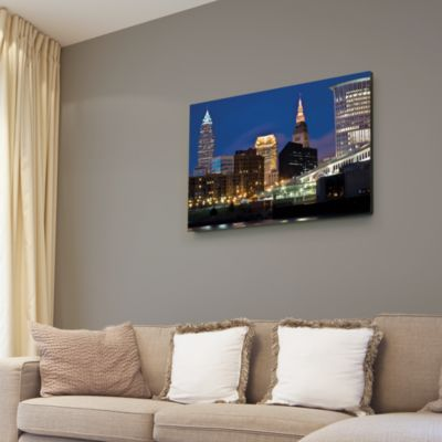 Cleveland Skyline Canvas